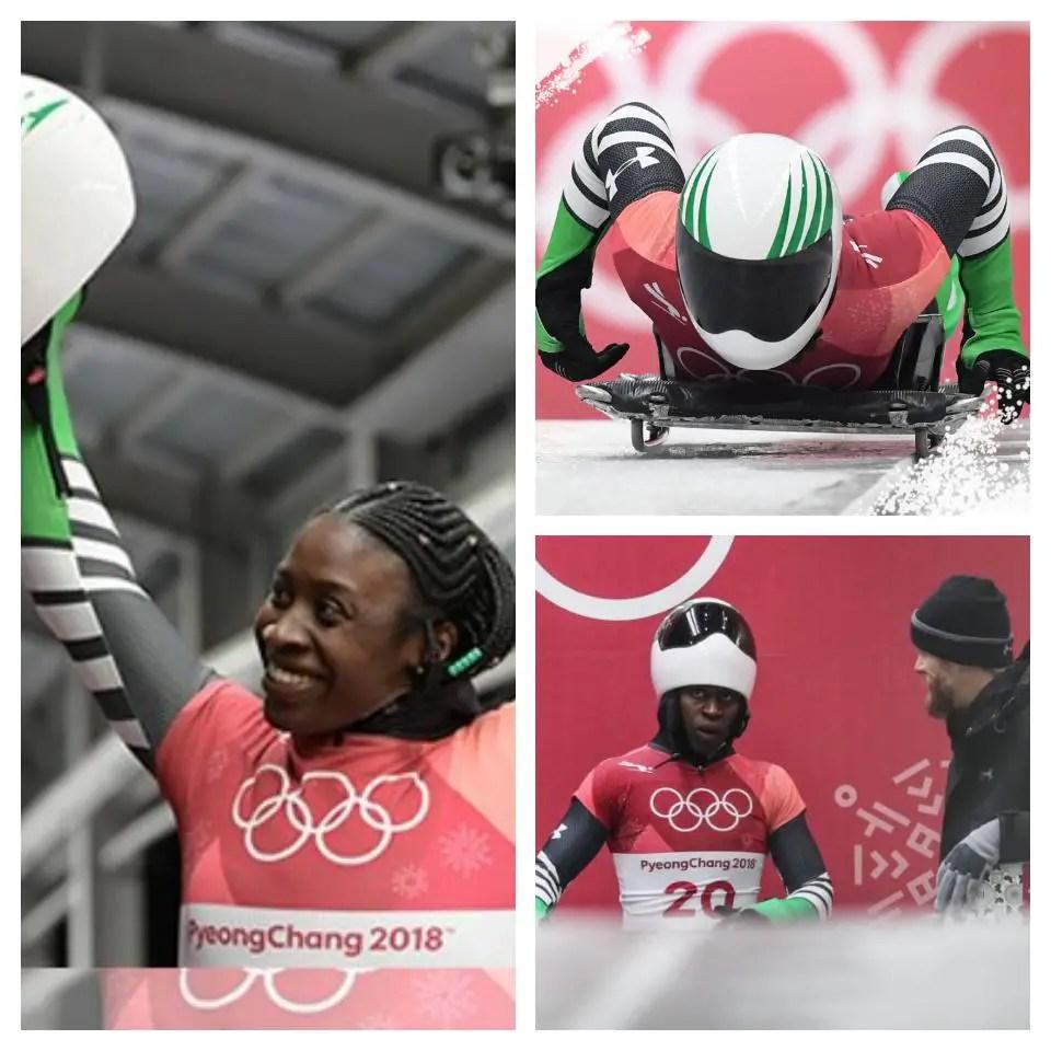 Winter Olympics: History Maker Adeagbo Sets New PB, Finishes 20th
