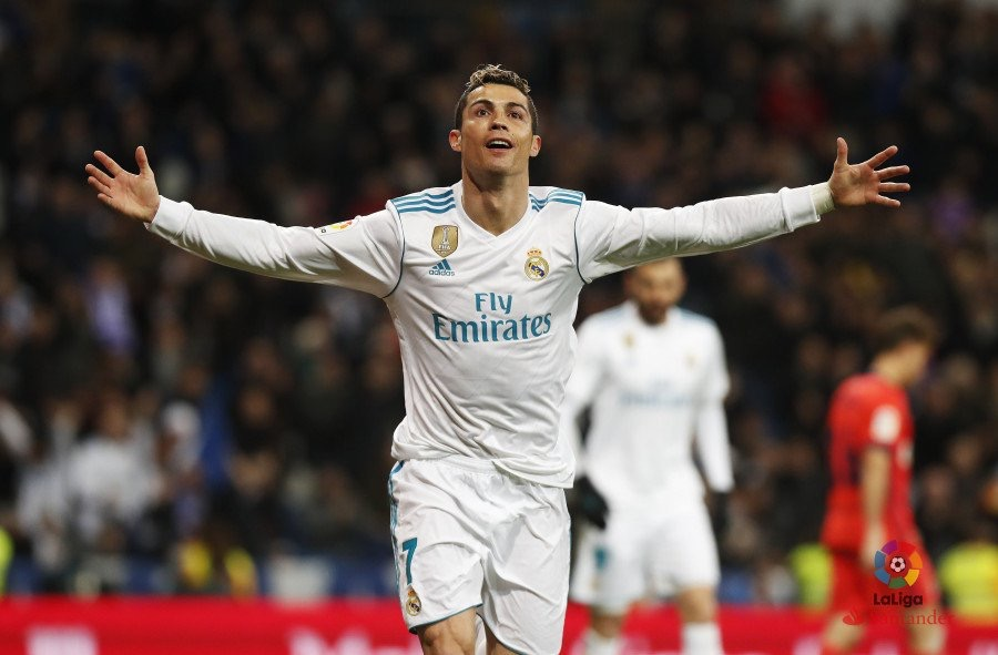 Ronaldo Hits Hat-trick As Real Madrid Trounce Real Sociedad