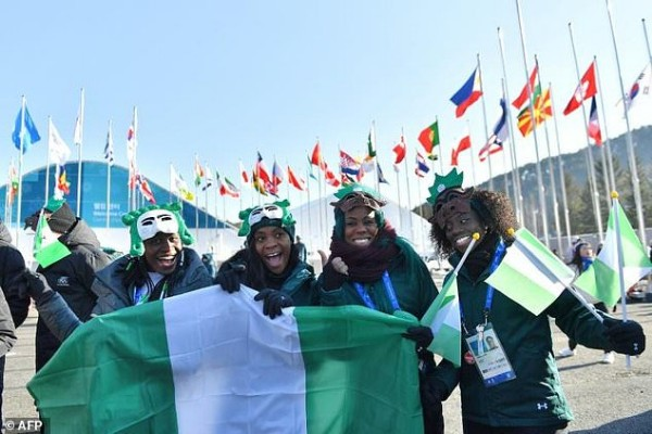 Winter Olympics: Nigerian Bobsled Team Drop To 20th In Sunday Heats