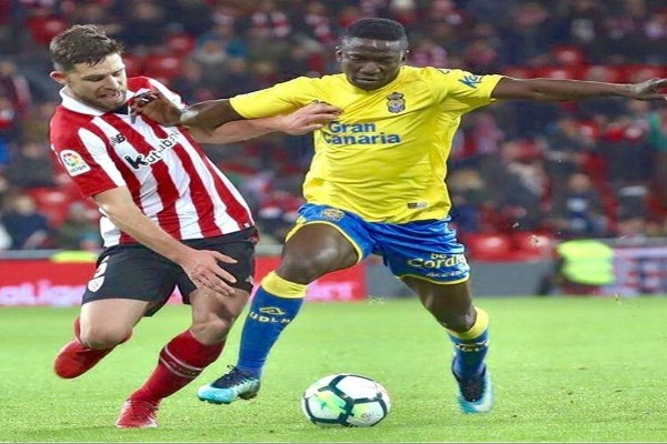 """Etebo """"Disappointed"""" Las Palmas Drew With Athletic Bilbao"""
