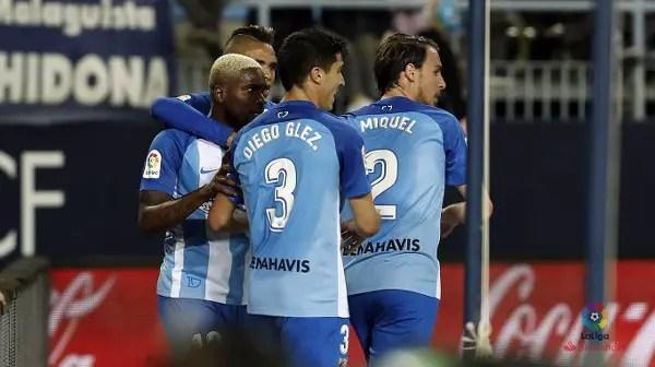 ROUND-UP: Ideye Scores As Malaga Lose To Valencia; Osimhen Subbed On Vs Bayern