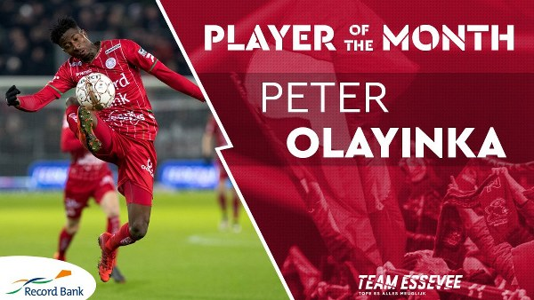 Nigerian Striker Olayinka In Zulte-Waregem's February Best Player Shortlist