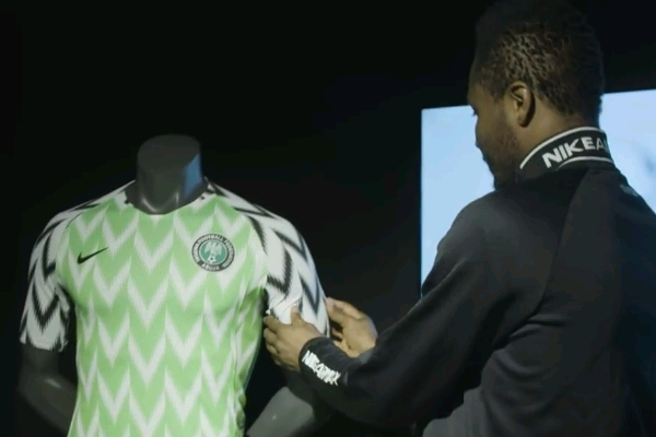PHOTOS: Nike Unveil New Super Eagles World Cup Kits