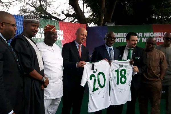 NFF, Nigerian Breweries Sign Five-Year, N2.2Bn Partnership Deal