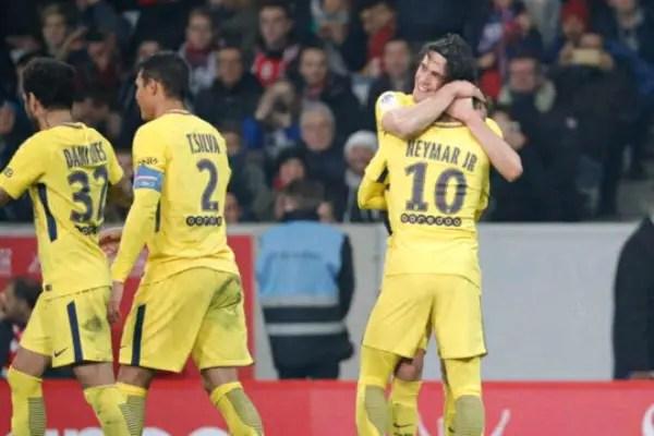 Neymar On Target As PSG Stretch Ligue 1 Lead