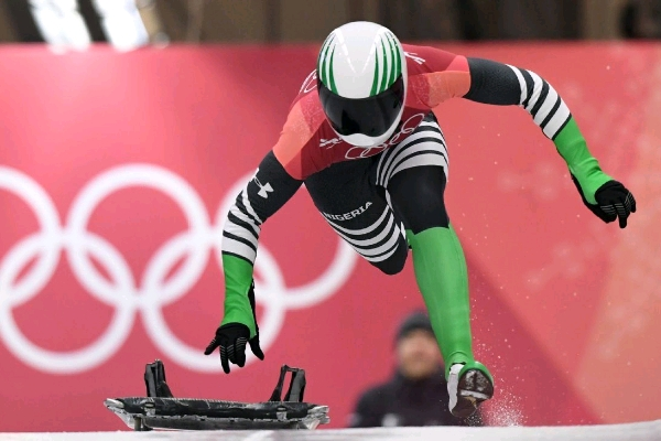 """Winter Olympics: Nigeria's Adeagbo Pleased With """"Awesome Debut"""" Despite Placing 20th"""