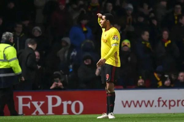 Deeney Strikes As Watford Edge Past Everton