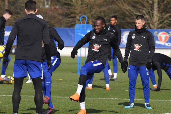 Moses In Fighting Mood Ahead Of Man United Clash