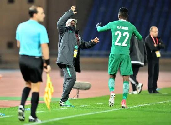 CHAN 2018 Final: Okpotu Dropped, Eneji Returns As Gabriel Leads Eagles' Attack  Vs Morocco