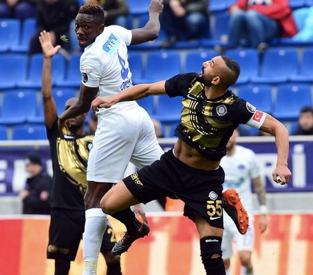 """Omeruo Blames Hard Luck For Kasimpasa's """"Manageable"""" Home Draw With Osmanlispor"""