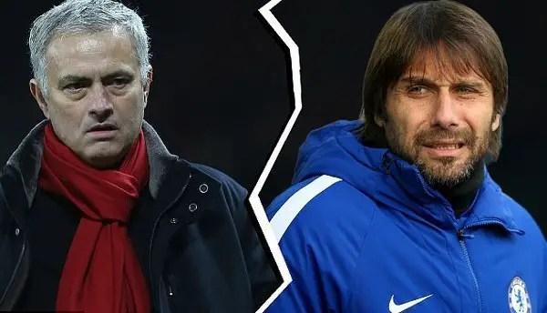 Mourinho Defends Conte, Chelsea Over 'Ridiculous' Criticisms