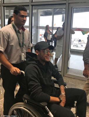 Brazil Doctor: Neymar To Have Surgery, Out For Three Months