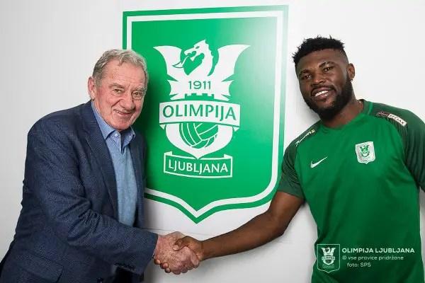 Udechukwu Joins Slovenian Club Olimpija Ljubljana From Katsina United