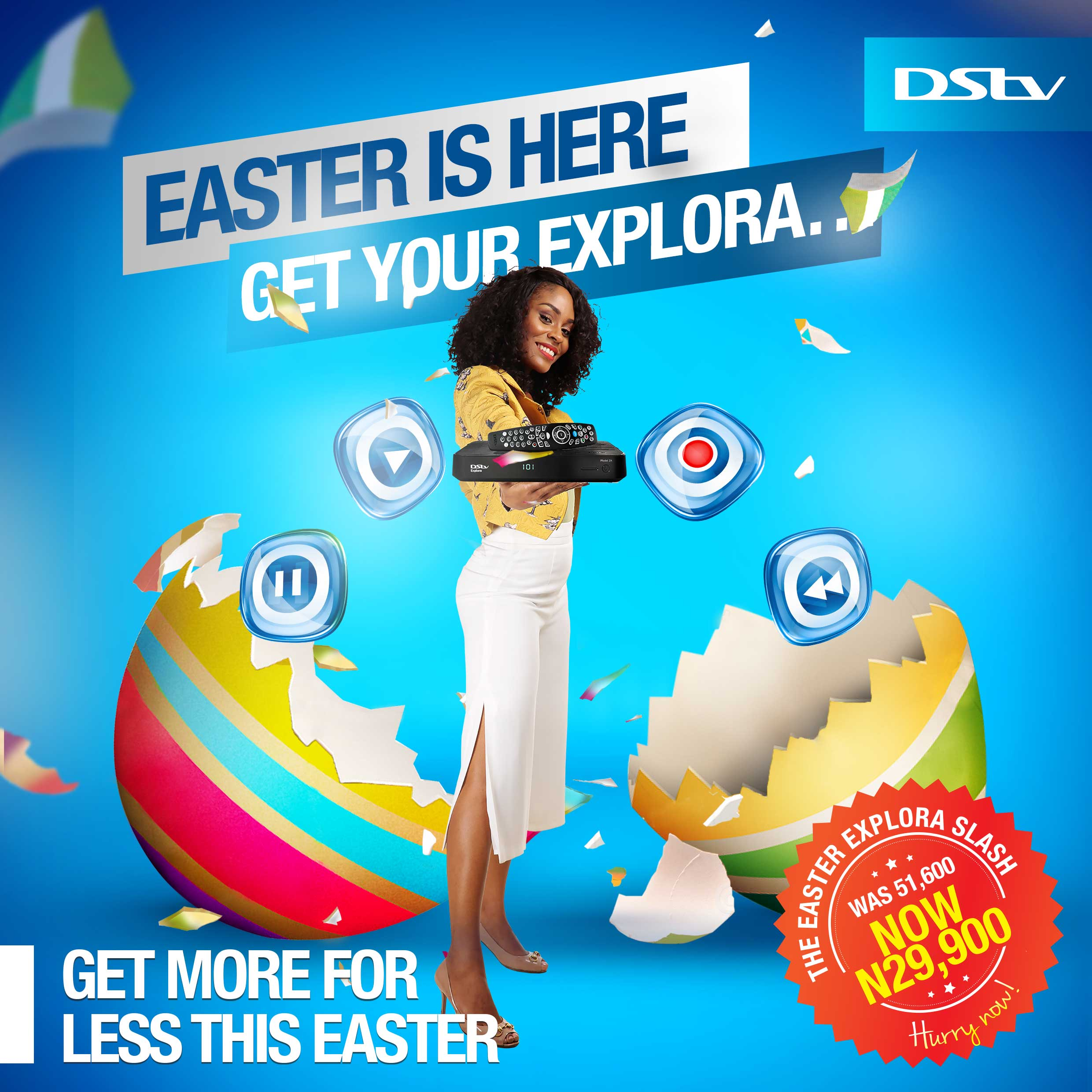 DStv Is Making Easter Holiday More Exciting!
