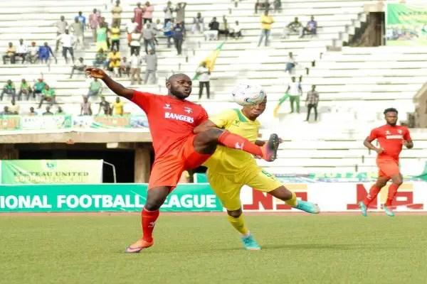 Ogunbote Rues Rangers Failure To Bag Away Point Vs Plateau United