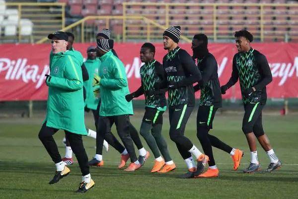Rohr: Poland, Nigeria Will Benefit From Friendly; Uzoho Will Start