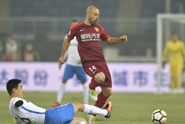 China: Mikel Stars, Mascherano Debuts As Tianjin Teda, Hebei Draw