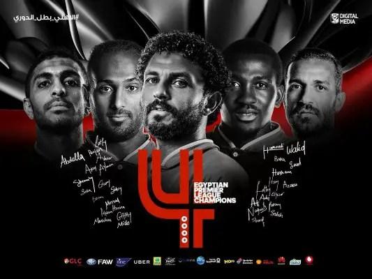 Ajayi Wins Egyptian Premier League Title With Al Ahly