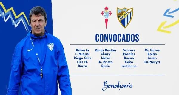 Ideye, Success Make Malaga Squad For Celta Vigo Clash