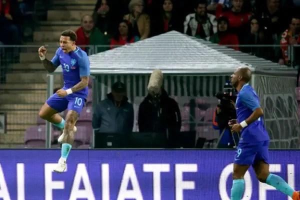 Ronaldo Subbed Off, Memphis, Van Dijk Score As Holland Spank Portugal