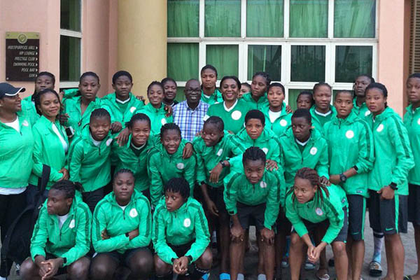 Ebi Tips Falconets To Qualify From Tough Women's World Cup Group