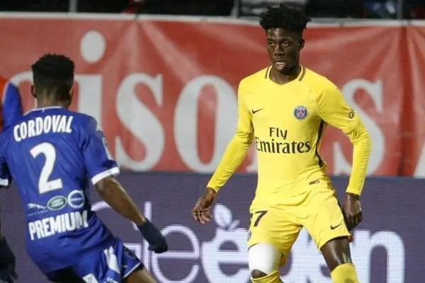 Di Maria Scores, Weah's Son Debuts As PSG Maintain Huge Ligue 1 Lead