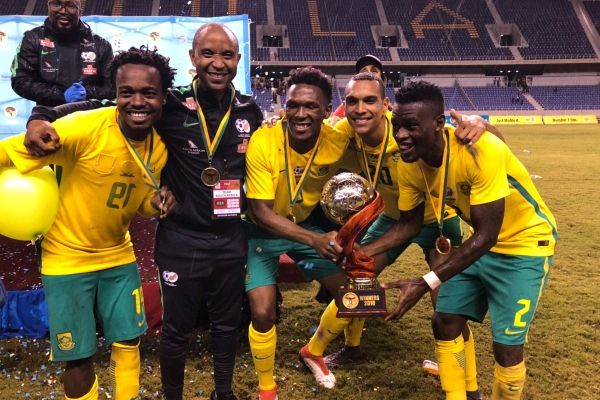 Nigeria's AFCON Qualifying Foes Bafana Beat Hosts Zambia To Win Invitational Tourney