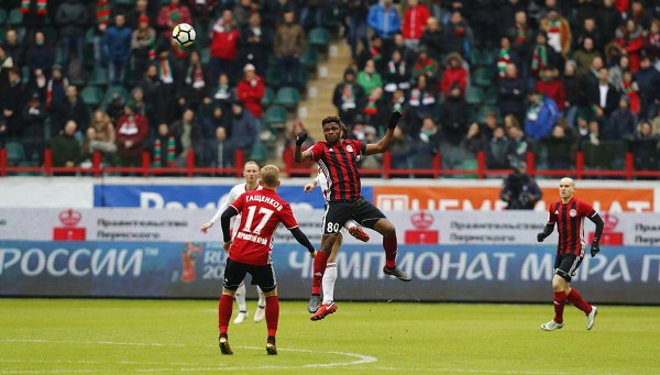 Samuel Hits Brace Fires Amkar Perm Past Lokomotiv; Idowu, Ogude In Action