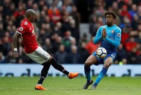 Wenger: Iwobi Hurt His Hamstring In Arsenal Defeat Vs Man United