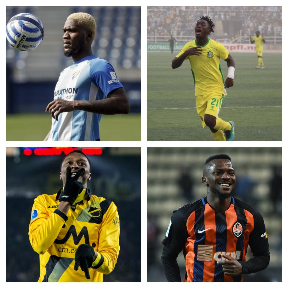 EAGLES GOAL HUNT: 9 Strikers Who Can Complement Ighalo At World Cup