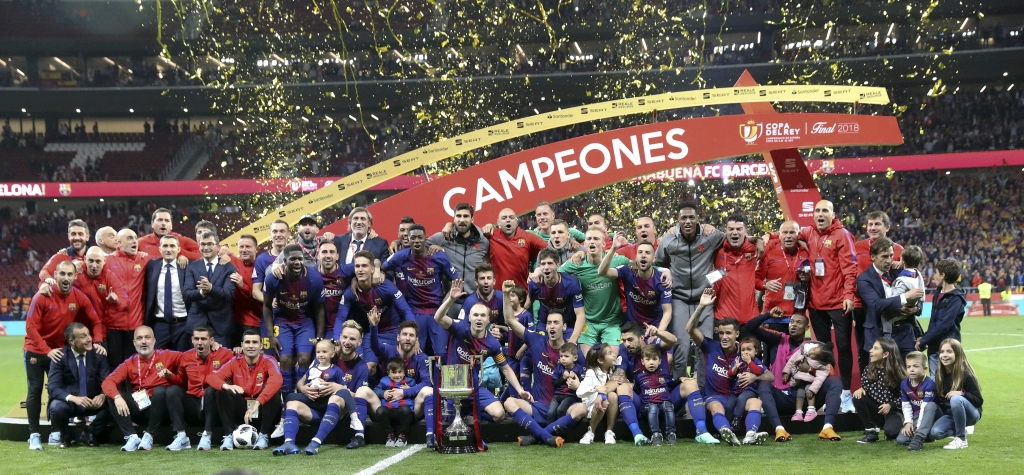 Barca Spank Sevilla To Win Fourth Straight Copa Del Rey