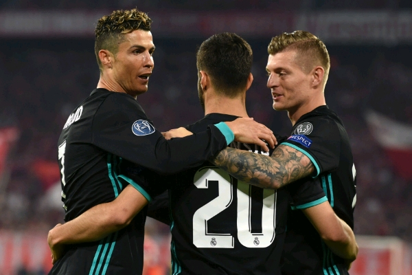 Champions League: Ronaldo Fires Blanks As Madrid Punish Wasteful Bayern