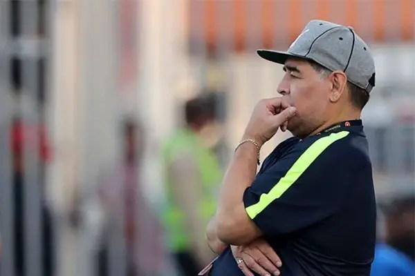 Maradona Leaves UAE Club Al Fujairah After Failed Promotion Bid