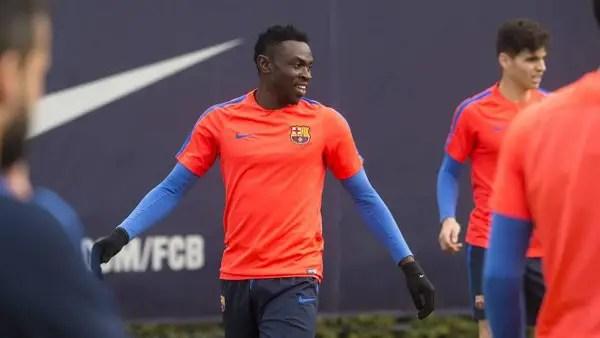 "Ex-Barcelona Star Bassey ""Happy"" To Make Akwa United Return"