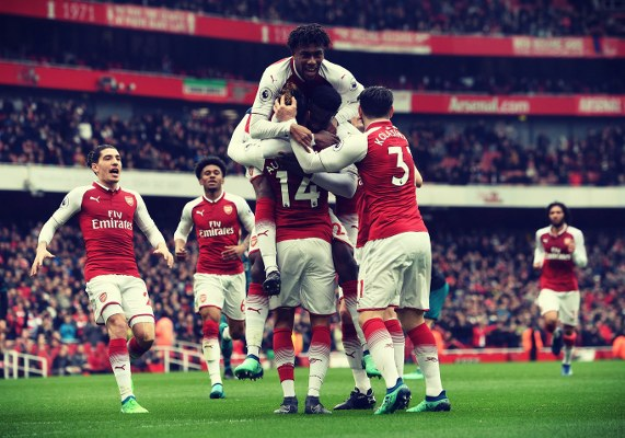 Iwobi Rated Joint-Best Player In Arsenal Win Vs Southampton