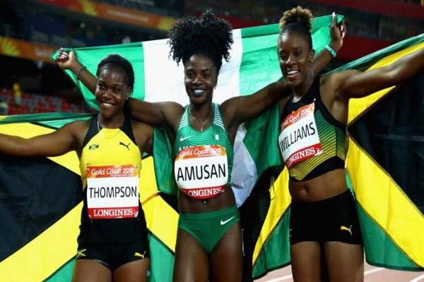 Commonwealth Games Gold Medallist Amusan Gives Credit To Coach, Others