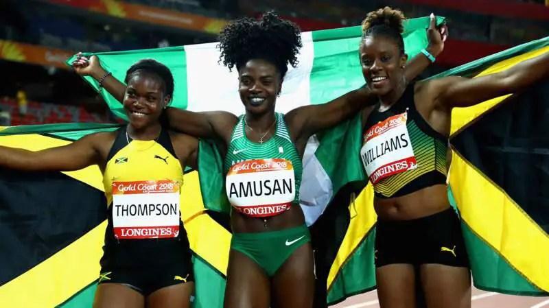Gold Coast 2018: Nigeria's Amusan Wins 100m Hurdles Gold!