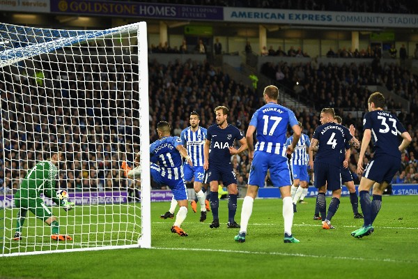Kane On Target As Brighton Hold Tottenham