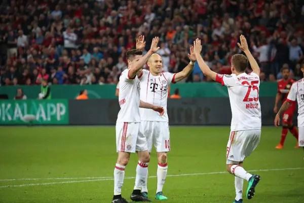 Bayern Thrash Leverkusen To Reach German Cup Final