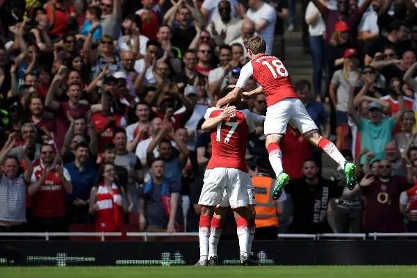 Iwobi Starts As Arsenal Thrash West Ham; Burnley Hold Stoke