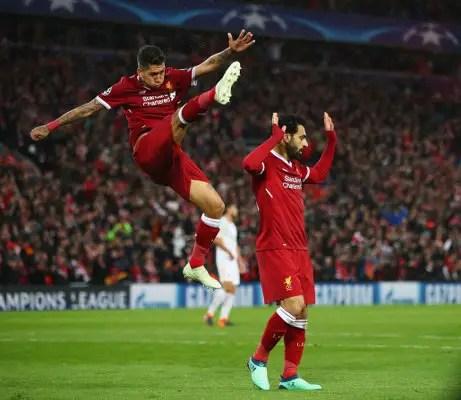Salah Makes Goals History As Liverpool Outclass Roma