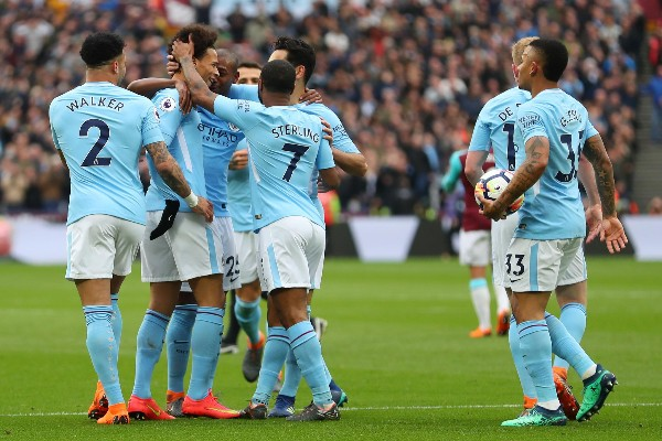Man City Trounce West Ham, Chase More EPL Records