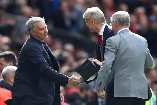 Wenger Rues Arsenal Missed Chances Vs United; Appreciates Ferguson, Mourinho's Gestures