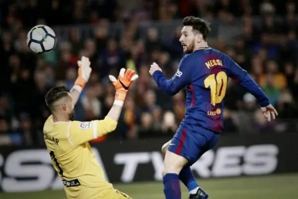 Messi Hits Hat-trick As Barca Equal LaLiga Record