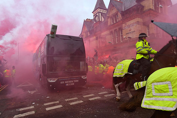 UEFA Charge Liverpool Over Crowd Trouble During UCL Clash Vs City