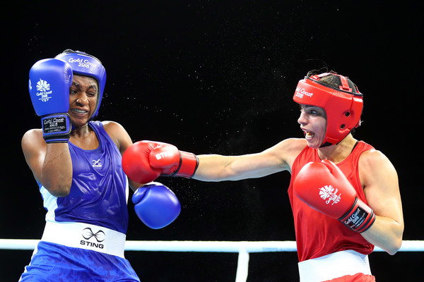 Gold Coast 2018: Odunuga Loses In Women's Lightweight Boxing Semis, Claims Bronze