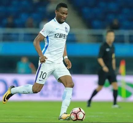 CSL: Mikel Opens Goal Account In Tianjin Teda Home Win