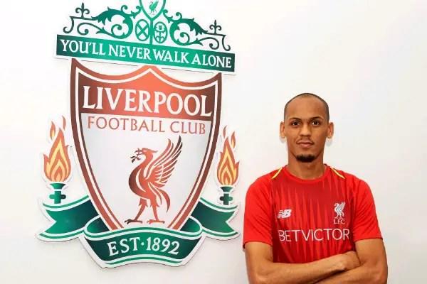 Liverpool Sign £44m Fabinho From AS Monaco