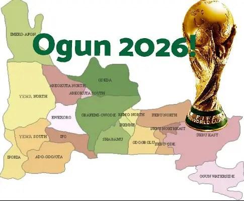Odegbami: Ogun State, Politics And The 2026 World Cup!