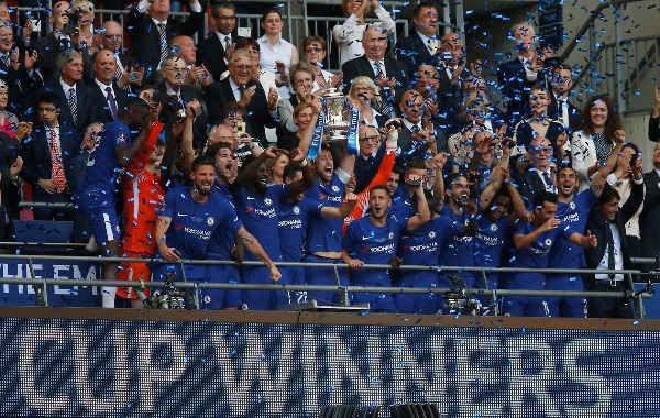 Conte Reveals Giroud's Importance In FA Cup Win, Insists On Chelsea Stay